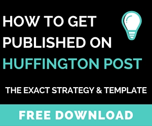 get published on huffington post