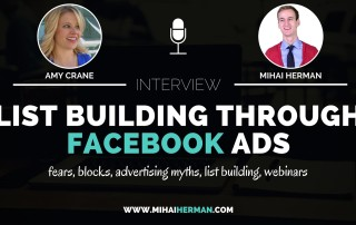 List Building through FAcebook Ads with Amy Crane