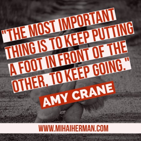 Quote by Amy Crane via @MihaiHerman