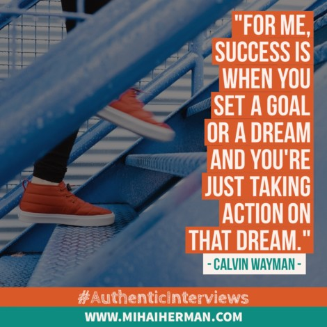 Quote about Success by Calvin Wayman - Mihaiherman.com