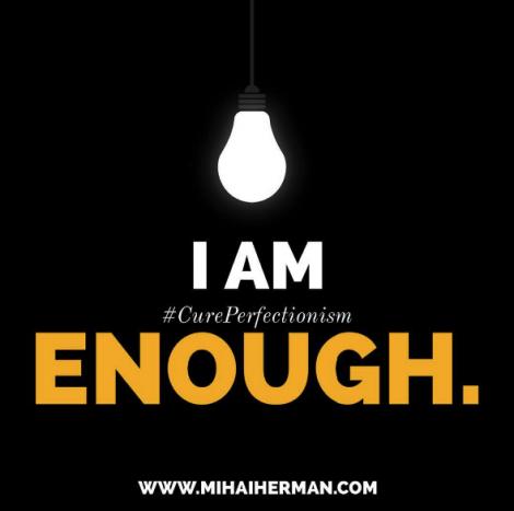 I am enough photo