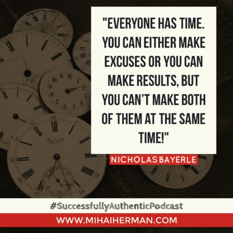 Quote on time by Nicholas Bayerle mihaiherman.com