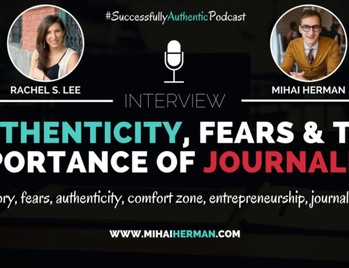 SAP016: Authenticity, Fears & The Importance of Journaling with Rachel S. Lee