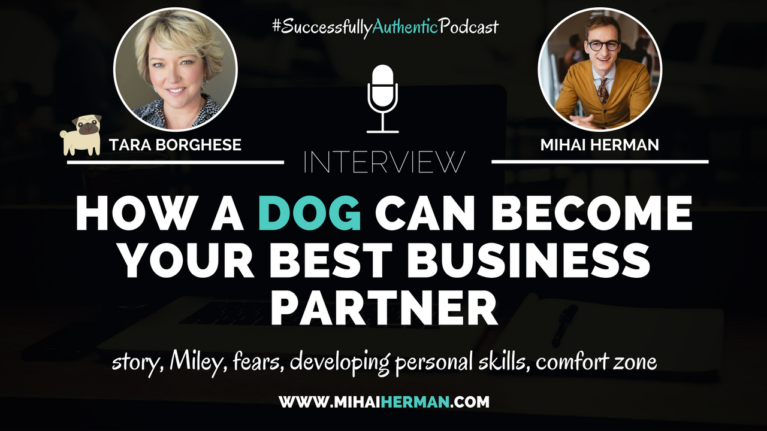 How a dog can become your best business partner with Tara Borghese