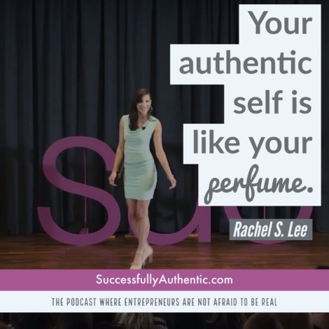 Quote on Authenticity by Rachel S Lee