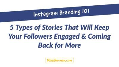 Instagram Stories Branding